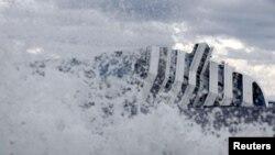 Затонувший круизный лайнер Costa Concordia