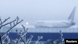 عکسی از فرودگاه مسکو