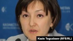 Анара Ибраева, директор филиала Казахстанского бюро по правам человека в Астане.