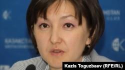 Анара Ибраева, член координационного совета НПМ.