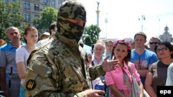 Семен Семенченко в Киеве