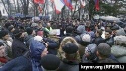 Сімферополь, 27 лютого 2014 року