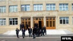 Naxçıvan Ali Məclisnin binası