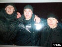 Слева направо: Роман Суставов, Владислав Шубин, Степан Шестаков