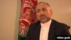 Former Afghan national-security adviser Mohammad Hanif Atmar (file photo)