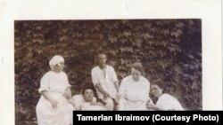 Мусахан Ташкенттеги госпиталда. 1930-жыл.