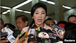 Поранешната премиерка на Тајланд, Јинглук Шинаватра