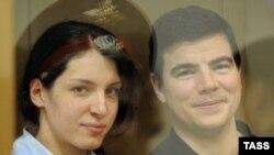 Евгения Хасис и Никита Тихонов