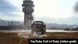 Кадр із вежею Донецького аеропорту у трейлері чергової частини популярної гри Call of Duty