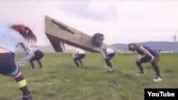 Танец девушек в Новороссийске