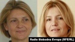 Ines Brdar (lijevo) i Danka Savić (desno)
