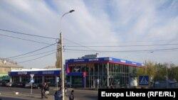 Magazinul Sheriff din centrul orașului Tiraspol