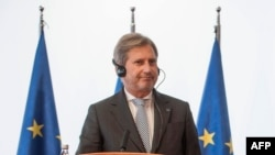 Еврокомесарот Јоханес Хан