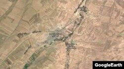 نمایی هوایی از قرهآغاج