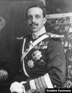 Альфонс XIII, король Испании в 1886 - 1931 годах