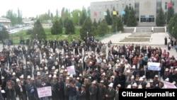 Митинг в поддержку Жороева