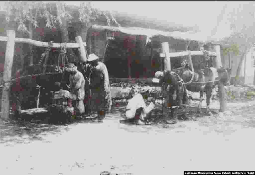 Пишпек шаары. 1900-жылдардын башы. (Сүрөттөр bishkek.kg инстаграмм баракчасынан алынды.)