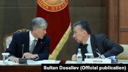 Алмазбек Атамбаев жана Фарид Ниязов