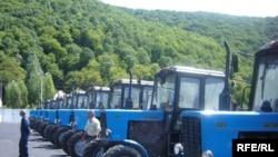Belarus traktorlarının Gəncədə yığılması üçün perspektivlər var