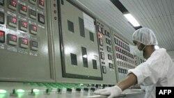 اتاق کنترل تاسیسات UCF اصفهان، فوریه ۲۰۰۷