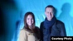 Александра Тарусова - о давлении полиции на сторонников Алексея Навального в Курске
