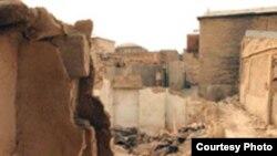 محله معروف عودلاجان که در سال های اخیر توسط شهرداری تهران تخریب شده است.