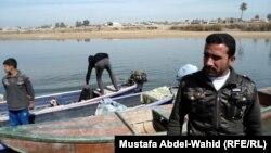 كربلاء: قوارب لصيد السمك
