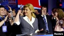 'Treba nam optimizam i samopouzdanje', kazala je Grabar-Kitarović