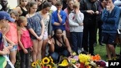 Дань уважения Нельсону Манделе