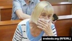 Соф'я Яфрэмаўна на судзе Сяргея Ціханоўскага, 12 чэрвеня