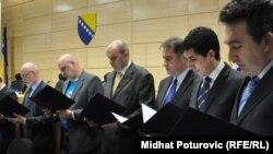 Formiranje federalne vlasti, mart 2011.