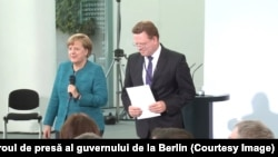 Angela Merkel şi Andreas Holstein