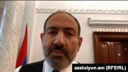 Ermənistanın baş naziri Nikol Pashinian özünün Facebook səhifəsindən canlı yayımla çıxış edib