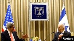 Keri i Peres juče u Jeruslimu