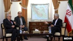 Ali Akbar Salehi i Lakhdar Brahimi u Teheranu