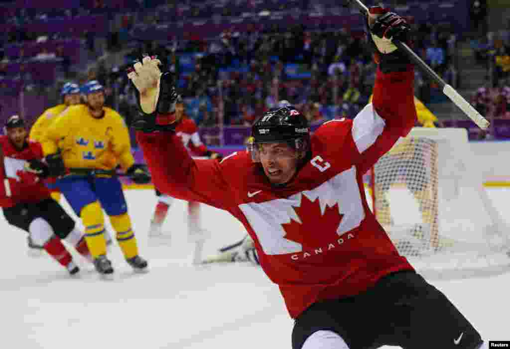 Олимпийским чемпионом по хоккею стала Канада, завоевавс 25 медалямитретье место в общекомандном зачете.