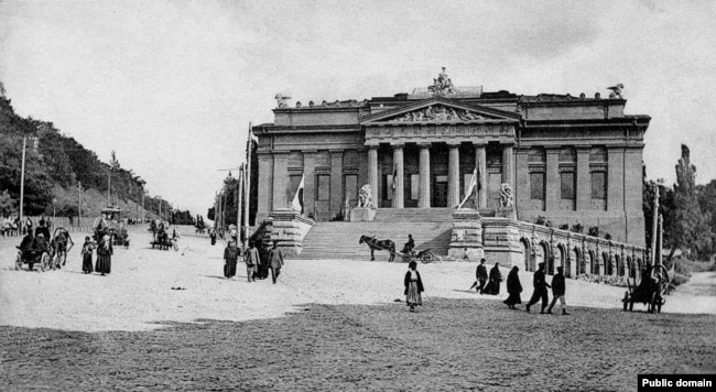 Художній музей, початок ХХ століття, вулиця Олександрівська (тепер – Грушевського). Ілюстраційне фото