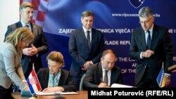 Potpisivanje ugovora o evropskom partnerstvu