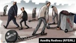 Sabitlik. Karikatura