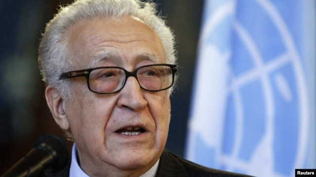 UN/Arab League peace mediator Lakhdar Brahimi