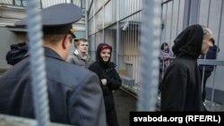 Суд над затриманими учасниками акції протесту в Білорусі, 15 березня 2017 року