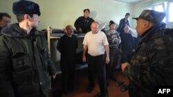 Бишкектеги абактардын биринде