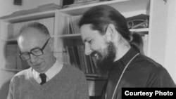 Мюнхен. 1980-е. Глеб Рар (слева)