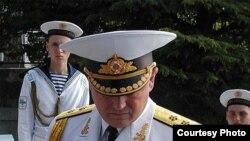 Командувач ВМС України віце-адмірал Ігор Тенюх