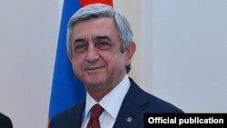 Presidenti armen, Serzh Sarkisian