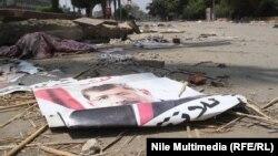 Площа Нагда в Каїрі після розгону демонстрантів, 16 серпня 2013 року