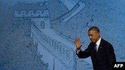 Барак Обама на саміті в Пекіні, 10 листопада 2014 року