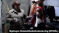 Софья Маркина (из Горловки) и Евдокия Денисова (из Донецка)