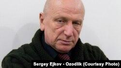 Журналист Сергей Ежков.