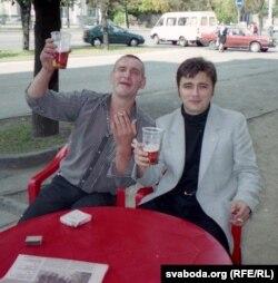 Зьміцер Бартосік і Анатоль Сыс за год да ягонае сьмерці